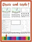 Drawing/Handwriting Course - Animal Alphabet Literacy Cent
