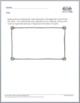 Printables Literature Response Draw and Write Middle School FREE SAMPLE