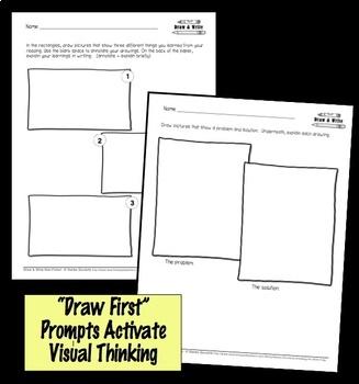 Printables Response to Non-Fiction Draw and Write