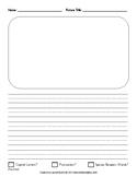 Drawing Journal Blank Printable - FREE!