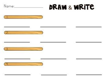 Draw & Write Sight Word Worksheet