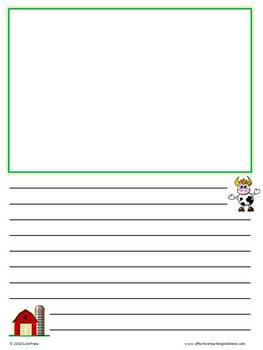 Draw & Write Thematic Theme Paper