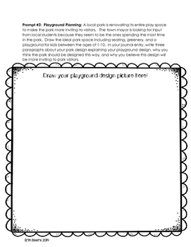 Draw, Write, and Share: Problem Based Journal Prompts for Reluctant Writers