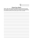 Draw Your Brain- Get to know you homework!
