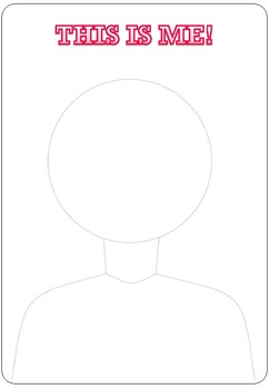 Draw Yourself Portrait Pattern