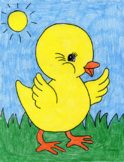 Draw a Baby Chick