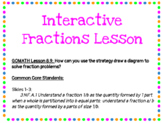 Draw a Diagram Fractions Digital Lesson- Grade 3 GOMath Ch