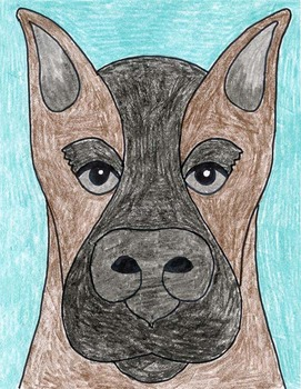Draw a Doberman