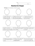 Draw a Face! French Physical Description Activity