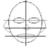 Draw a Face Using Symmetry