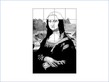 Draw a Famous Artwork: Mona Lisa