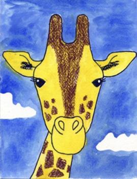 Draw a Giraffe Face
