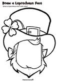 Draw a Leprechaun St. Patrick's Day Activity