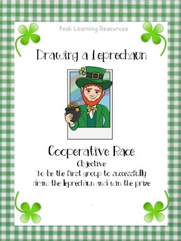 Drawing a Leprechaun: A Cooperative Race
