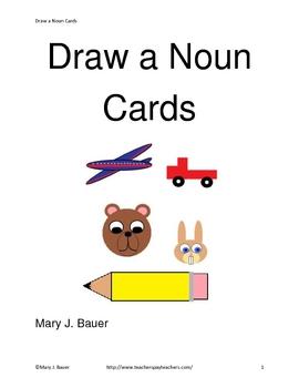 Draw a Noun Cards