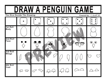 Draw a Penguin Game