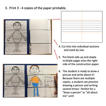Draw a Person Booklet Freebie