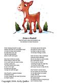 Draw a Rudolf Poem