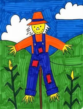Draw a Scarecrow