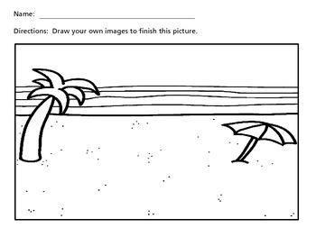 Draw a Scene - Summer