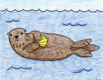 Draw a Sea Otter