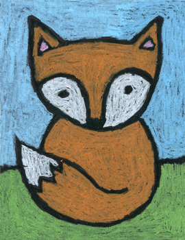 Draw A Super Easy Fox By Art Projects For Kids Tpt