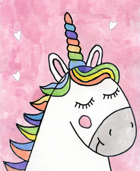 Draw A Unicorn By Art Projects For Kids Teachers Pay Teachers