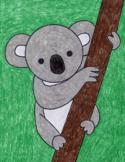 Draw an Easy Koala