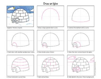 Draw an Igloo