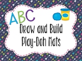 Draw and Build Play-doh Mats