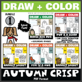 Draw and Color - Autumn Crisp Bundle 1 (One Page Directed
