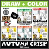Creative Art Activities - Autumn Crisp Bundle 1 (One Page