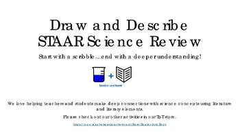 Draw and Describe STAAR Science Review