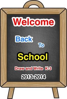 Draw and Describe: Schools
