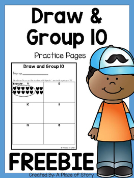 Draw and Group 10 FREEBIE