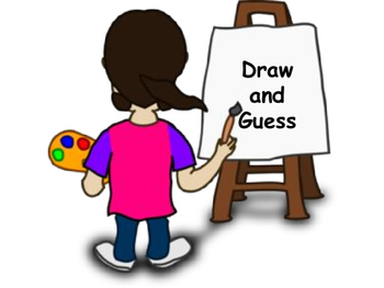 Draw And Guess Game By Brenda Alexander Teachers Pay Teachers