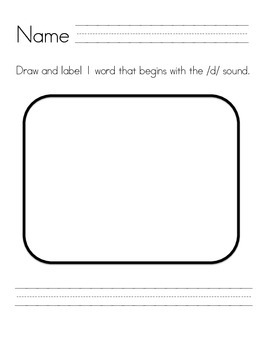 Draw and Label ABC's