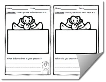 Draw and Label Holiday Pack Scene Bundle (Building Early Vocabulary)