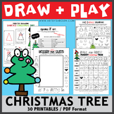 Draw and Play - A Funny Christmas Tree