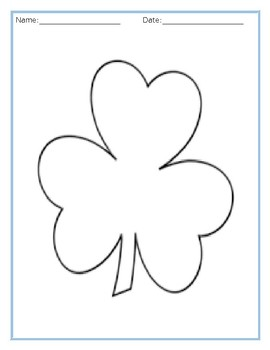 Draw and Show Shamrock