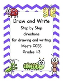 Draw and Write, 1st-3rd grade Leveled Writing Bundle Common Core Aligned