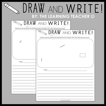 Draw and Write (36 pages)