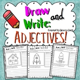 Draw and Write: Adjectives