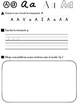 Draw and Write Alphabet Journal in Spanish // Dibuja y Escribe Diario Alfabetico