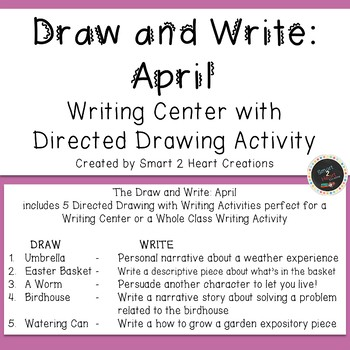 Draw and Write April (Writing and Directed Drawing Center)