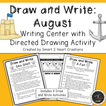 #christmasinjuly Draw and Write August (Writing&Directed Drawing Center)