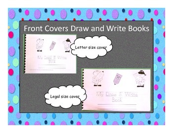 Draw and Write Booklets for Writing Workshop