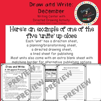 Draw and Write December (Writing and Directed Drawing Center)