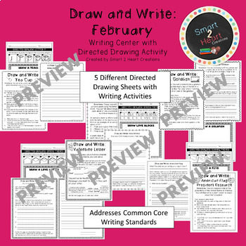 Draw and Write February (Writing and Directed Drawing Center)