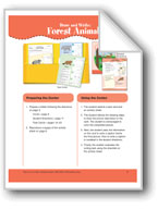 Draw and Write: Forest Animals (File Folder Center)